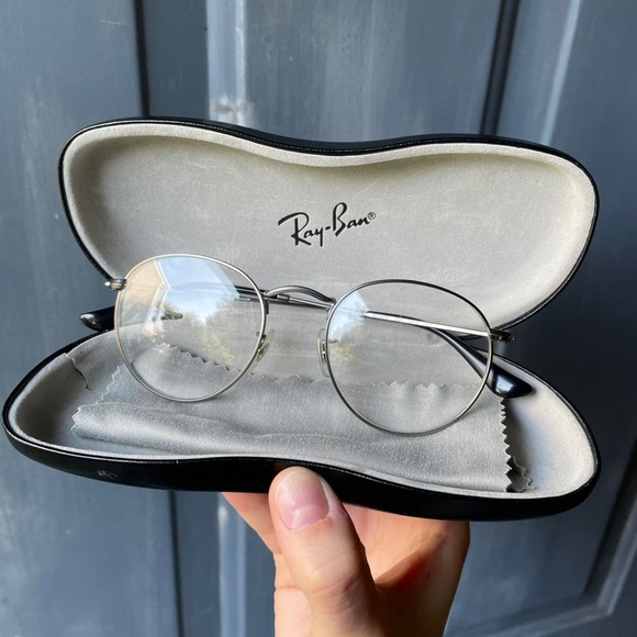 Ray-Ban Round Optical Glasses 50mm